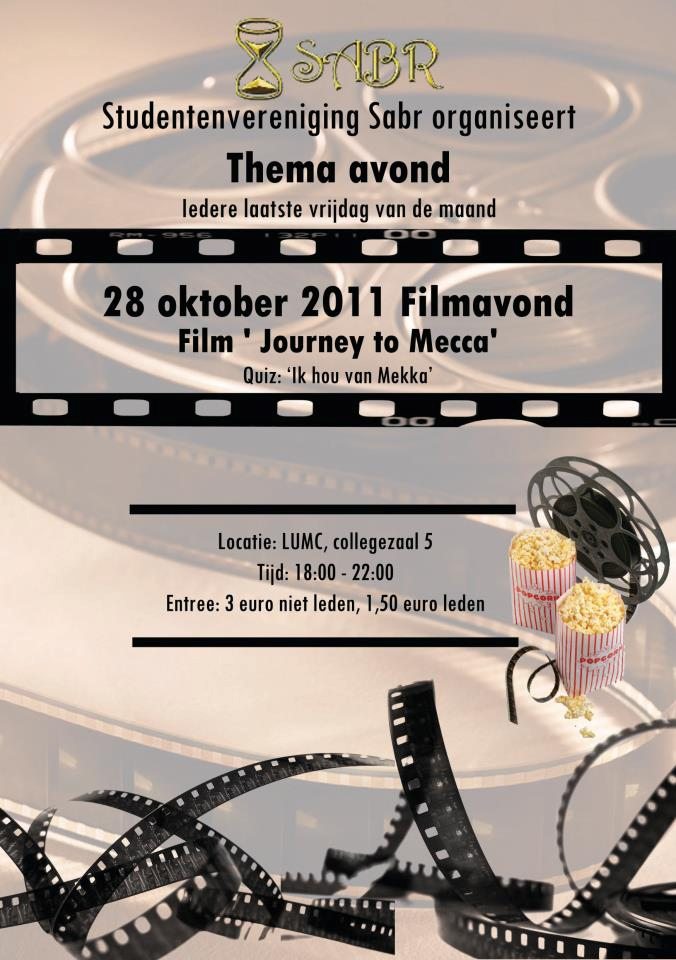Filmavond. 'Journey to Mecca'