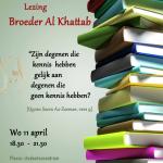 Lezing al Khattab 11-04