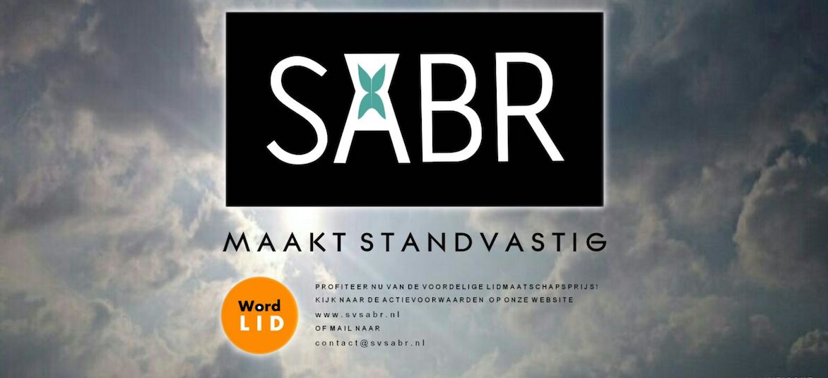 Welkom bij SV SABR!